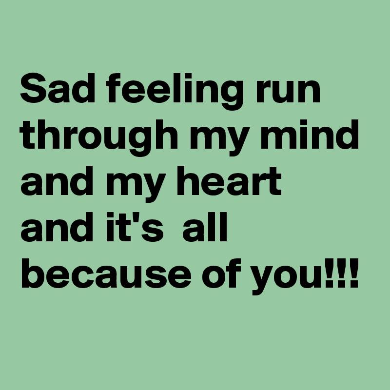Heart sad my is 7 Prayers