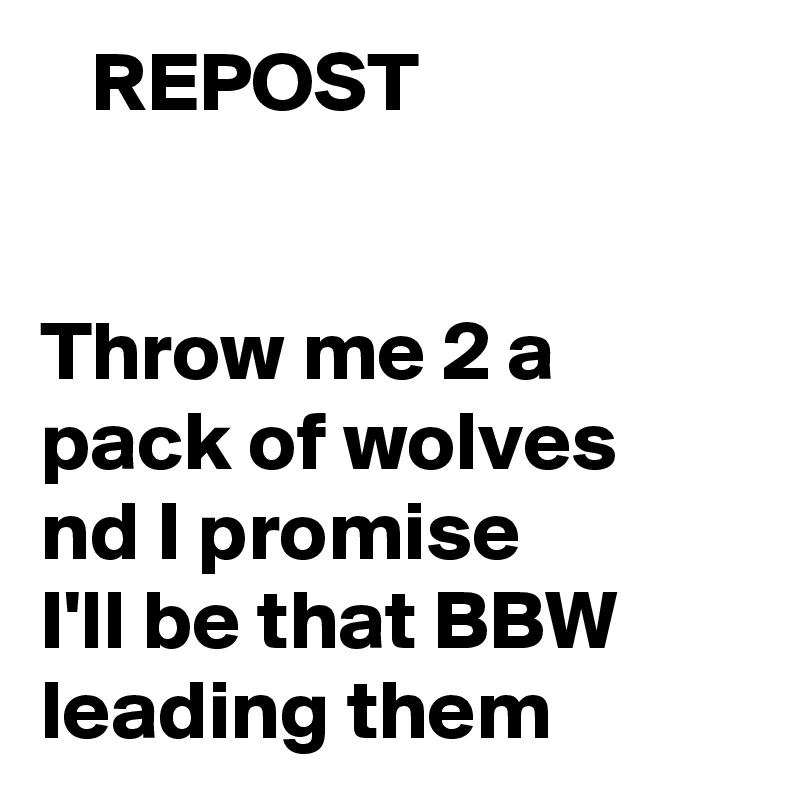 Bbw pic post