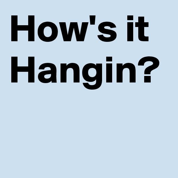 How's it Hangin?