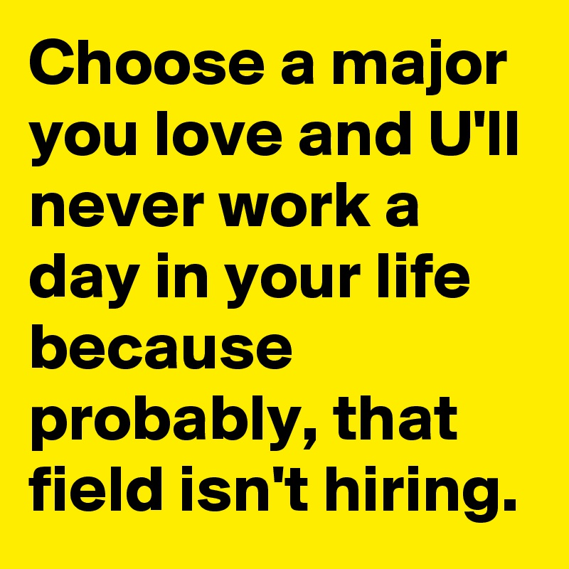 how you choose your major Explain how your major lines up with your career goals  the interviewer wants  to see how much thought you put into choosing your college major, as well as.