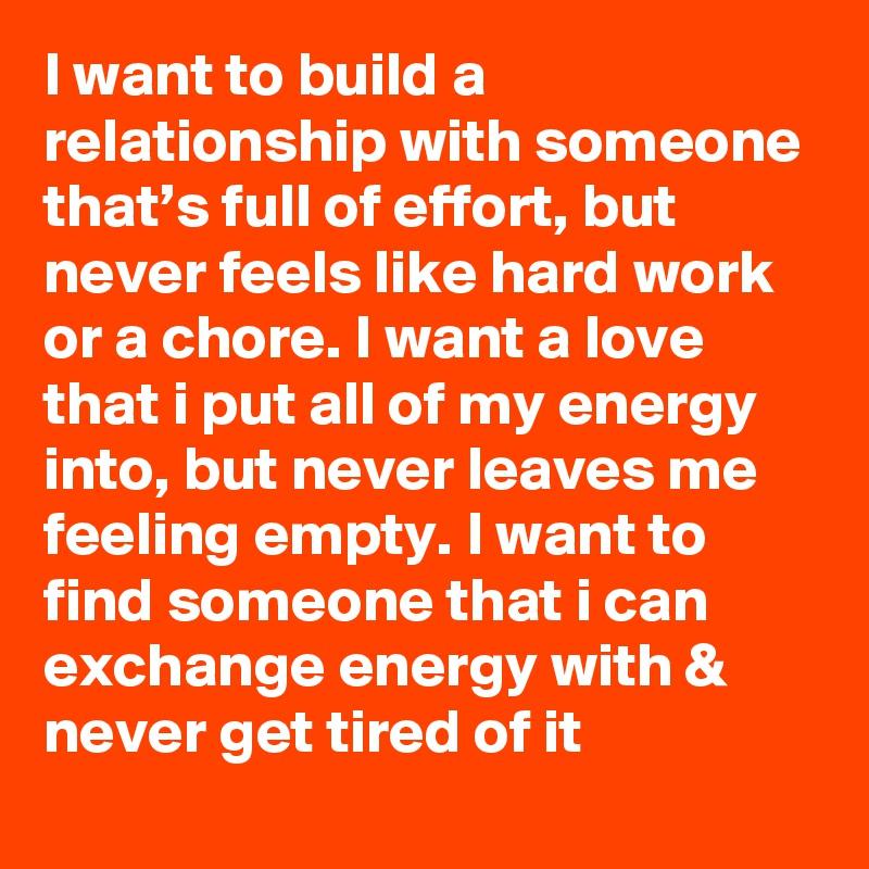 Feeling empty in relationship