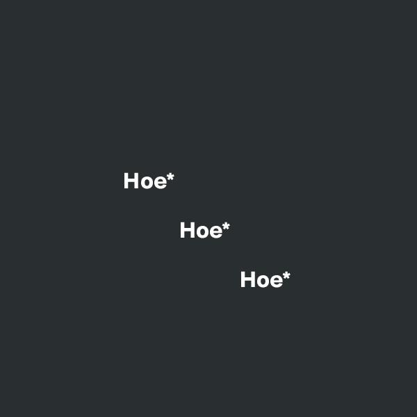 Hoe*                                    Hoe*                                                 Hoe*