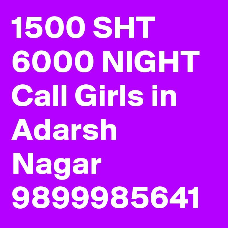 1500 SHT 6000 NIGHT Call Girls in Adarsh Nagar 9899985641