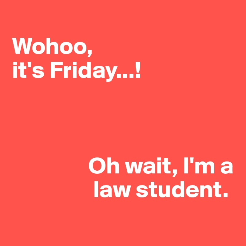 who is a law student