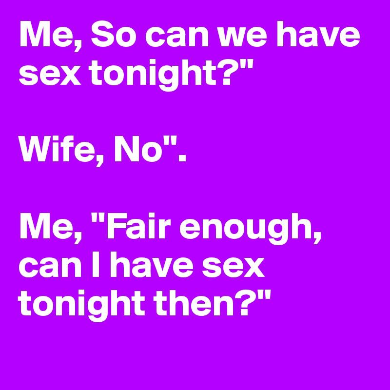Have sex tonight com