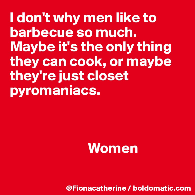 why men like