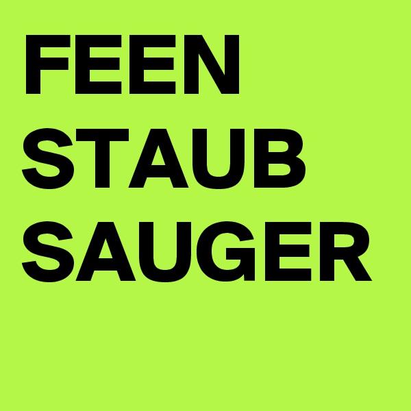FEEN STAUB SAUGER