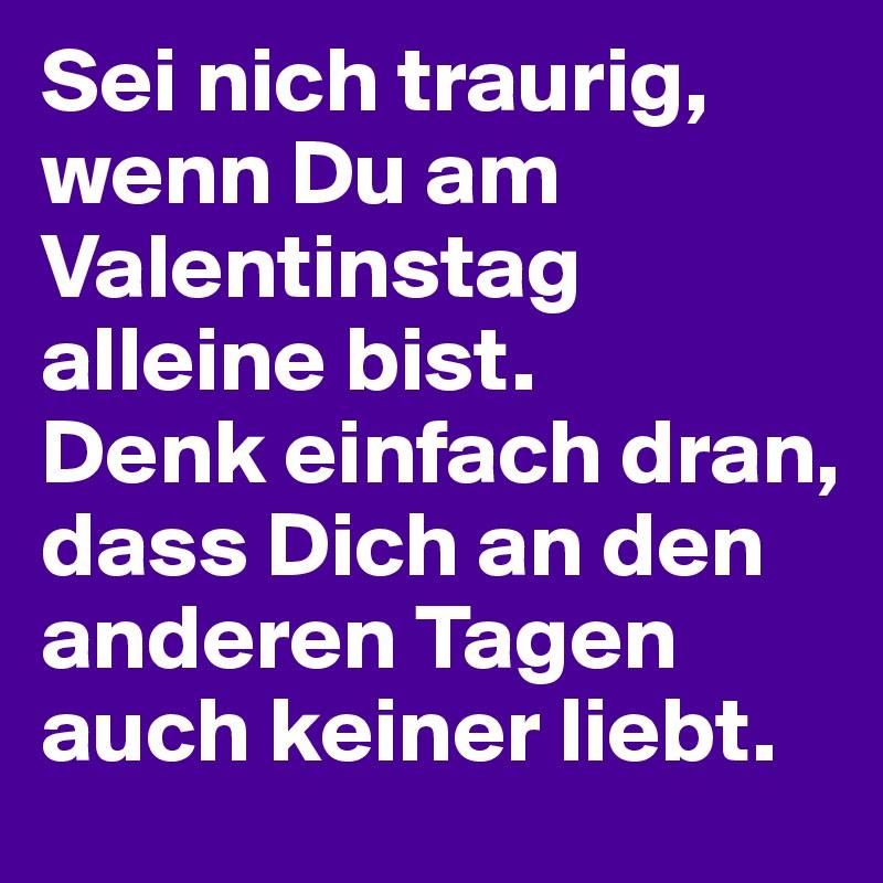 Am valentinstag