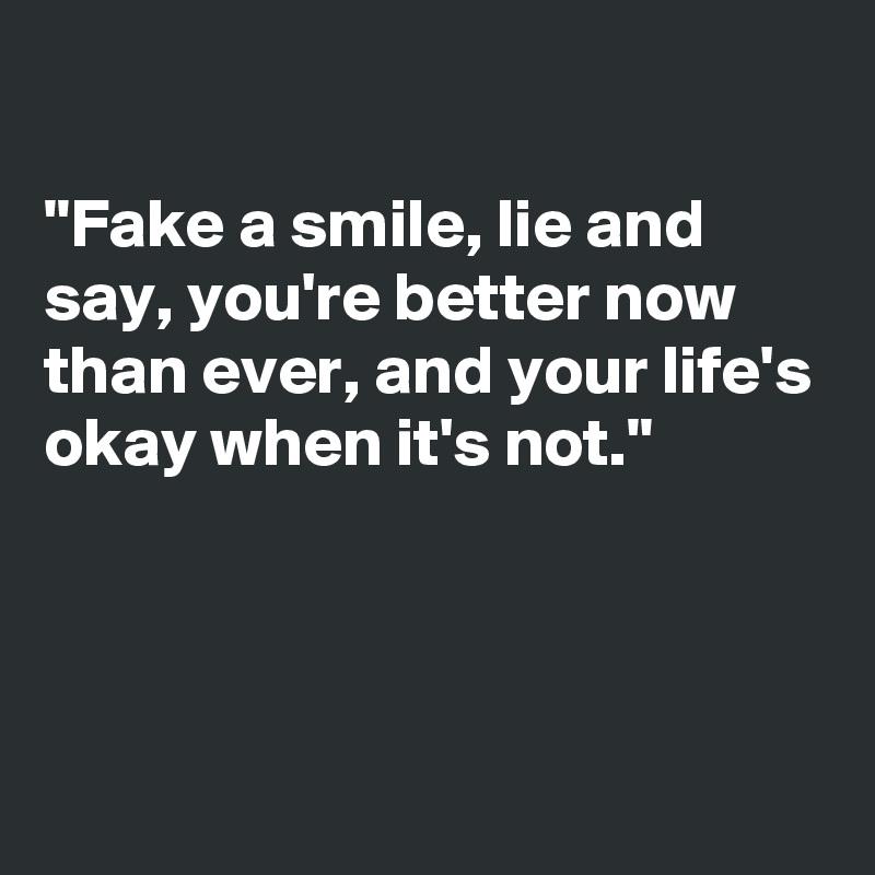 When is it okay to lie