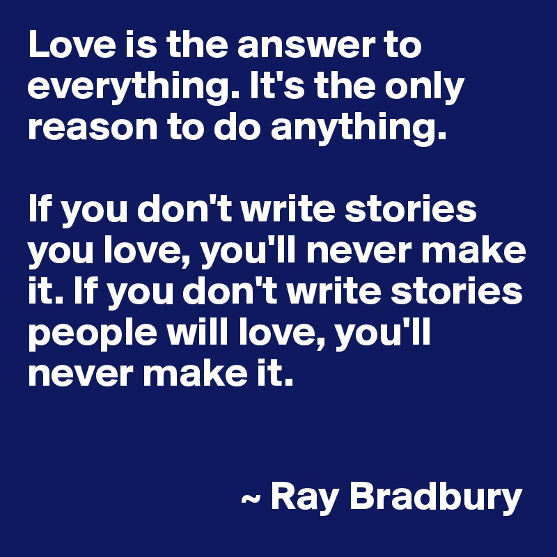 The answer and other love stories array love is the answer to everything it u0027s the only reason to do rh fandeluxe Gallery