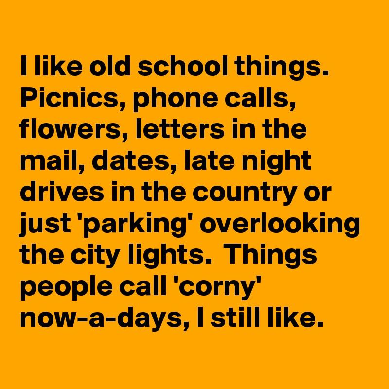old school things