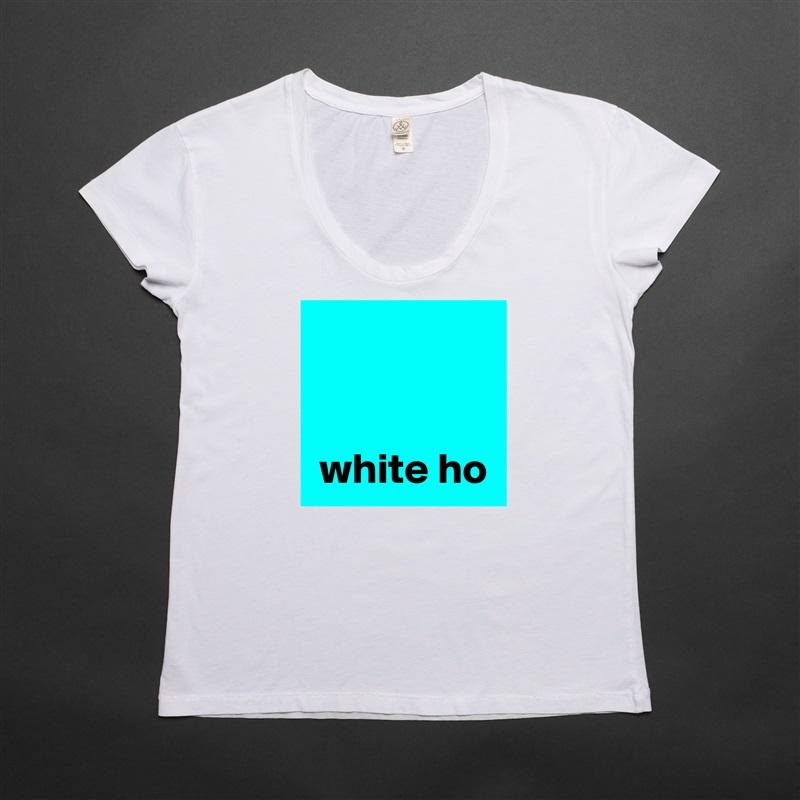 white ho White Womens Women Shirt T-Shirt Quote Custom Roadtrip Satin Jersey