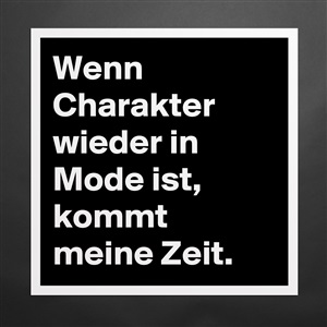 was ist charakter