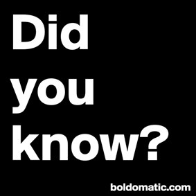 DidYouKnow on Boldomatic - Daily posts from the Wikipedia Main Page...