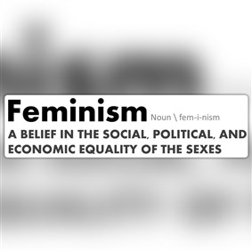 TheFeminist on Boldomatic - :the theory of the political, economic, and social equality of the sexes